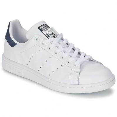 adidas stan smith blanc et bleu