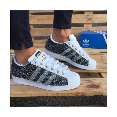 adidas superstar glitter