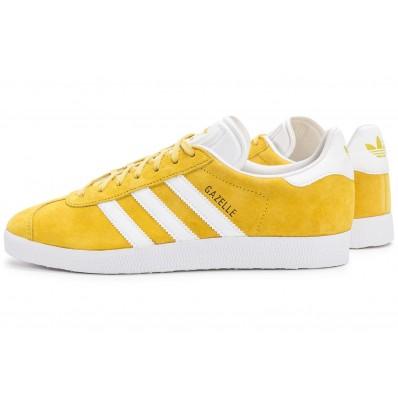 basket adidas gazelle femme jaune