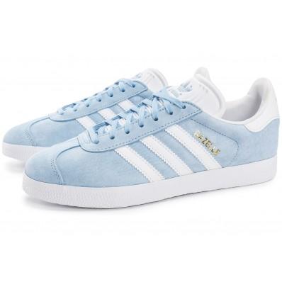 basket adidas gazelle femmes bleue