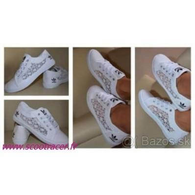 chaussure adidas blanche dentelle