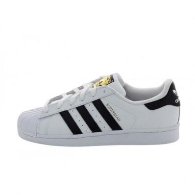 chaussure adidas blanche et noir
