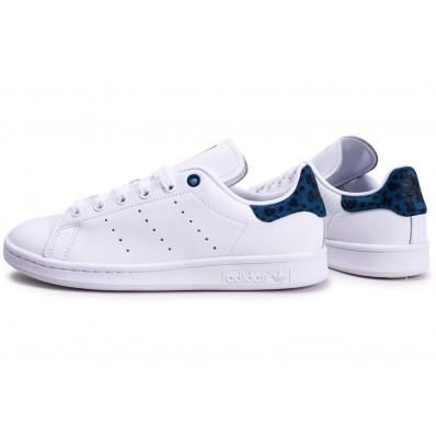 chaussure femme adidas bleu stan smith