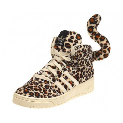 chaussures adidas leopard