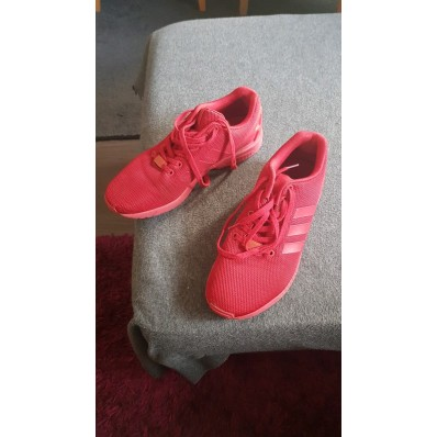 chaussures adidas rouge homme