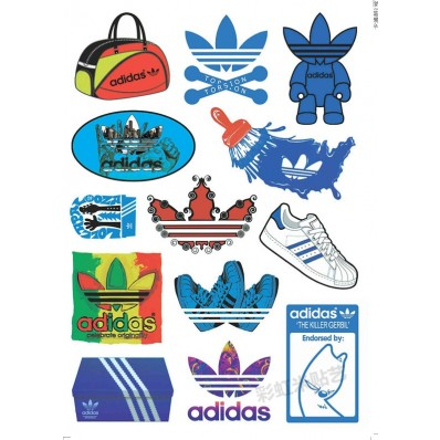 stickers adidas chaussures