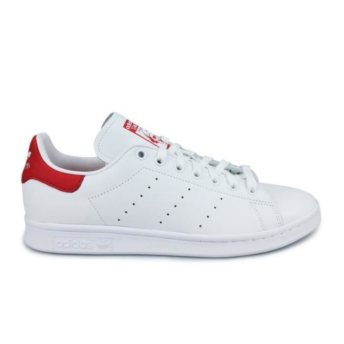 adidas stan smith femme rouge et blanc
