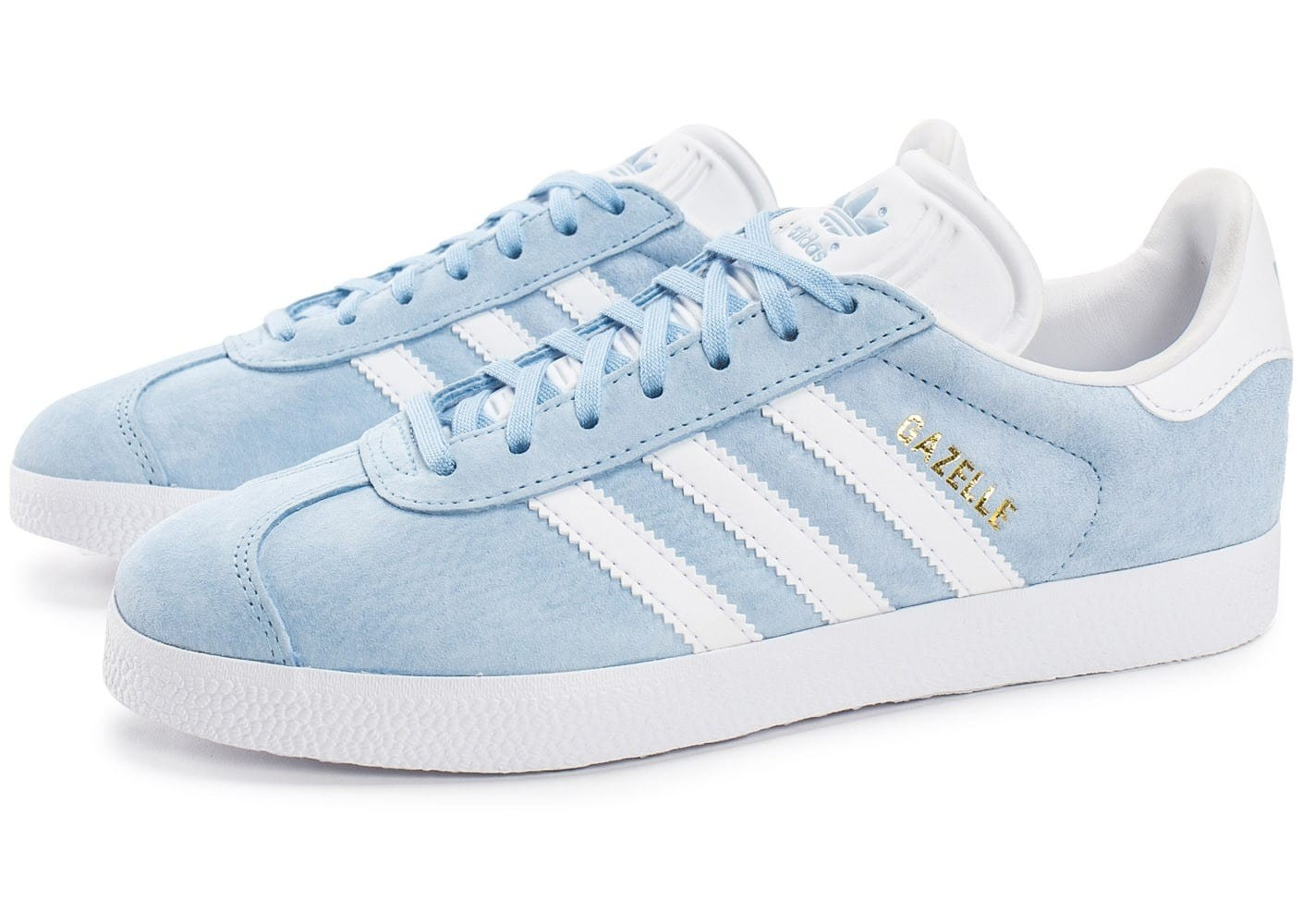 basket femme gazelle adidas bleu