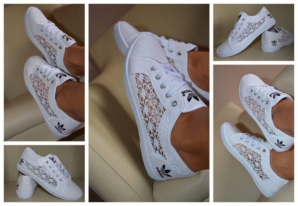sneakers dentelle femme adidas