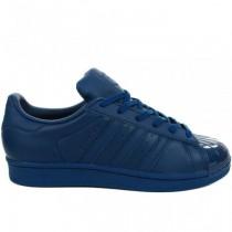 adidas superstar femme bleu