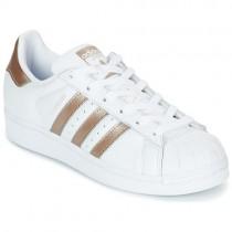 chaussure femme basket adidas blanche