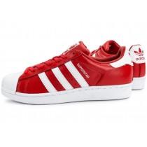 chaussures adidas superstar rouge