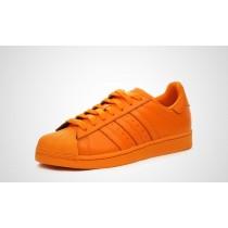 superstar femme adidas orange