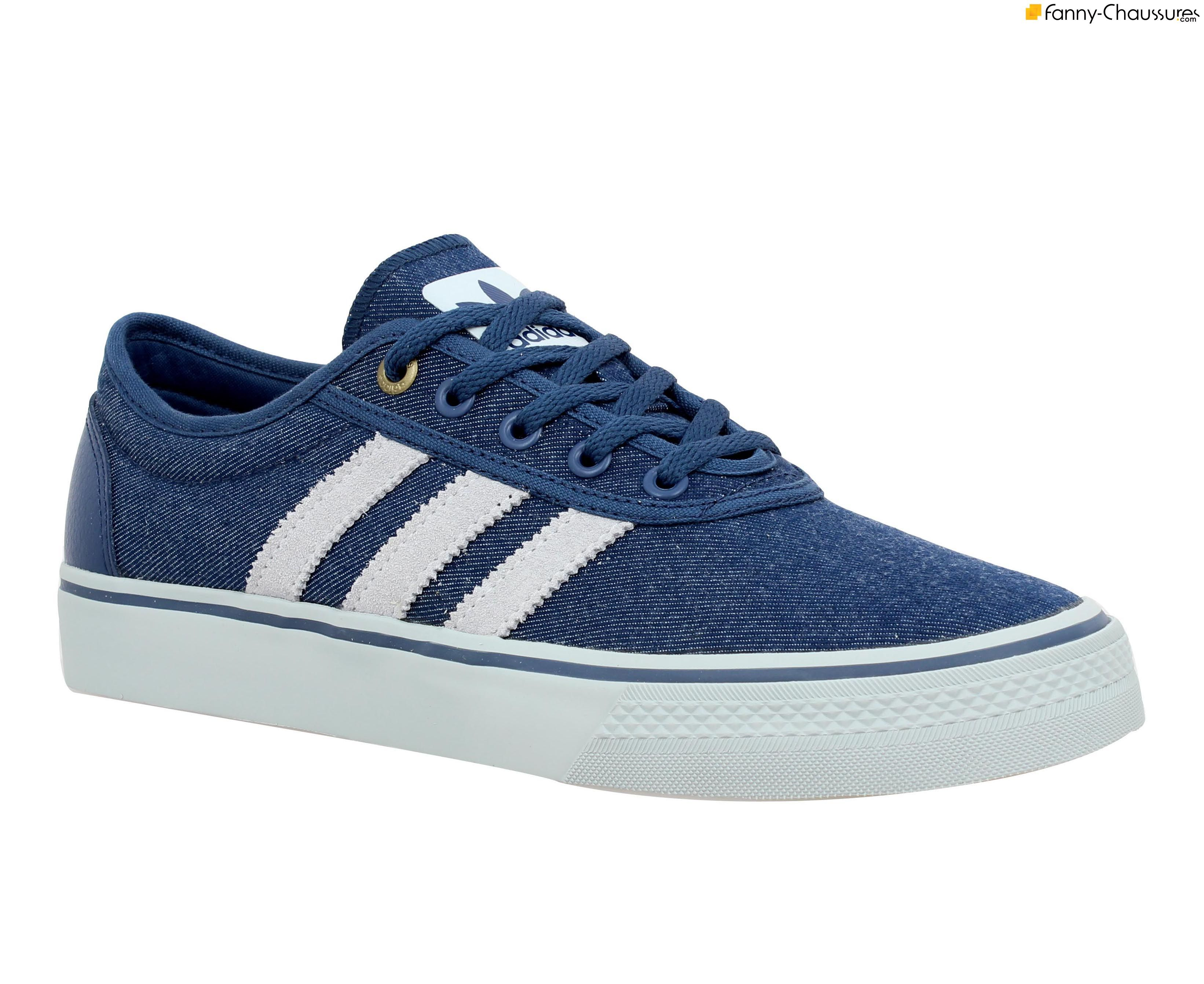 chaussure en toile homme adidas